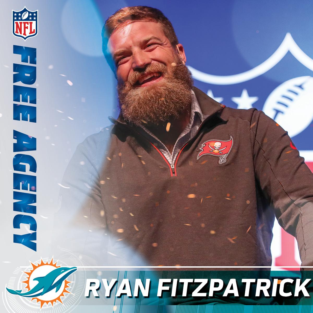 Introducing @MiamiDolphins&#39; new starting Quarterback...   Fitzmagic <br>http://pic.twitter.com/4EPhr9A5il