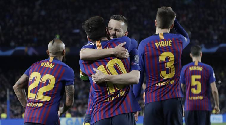 Barcelona vs Lyon: Relentless Lionel Messi leads demolition of Lyon to take Barca through https://t.co/2vi78Tt18x via @IndianExpress https://t.co/hV9zzgBdHP