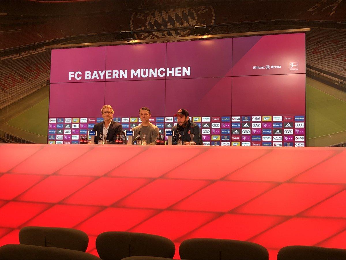 FC Bayern München's photo on #Kovac
