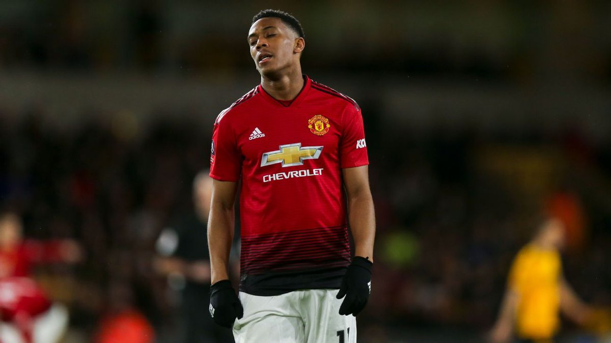 OFFICIAL: Anthony Martial pulls out of France's squad due to a knee injury suffered against Wolves in the FA Cup.