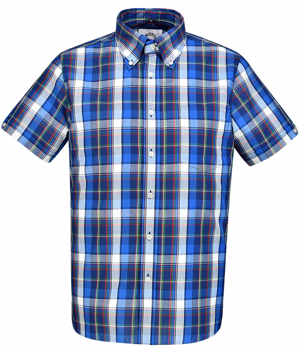fef4f5c2748 Brutus Trimfit short sleeve check   gingham shirts available in various  styles   colours   https