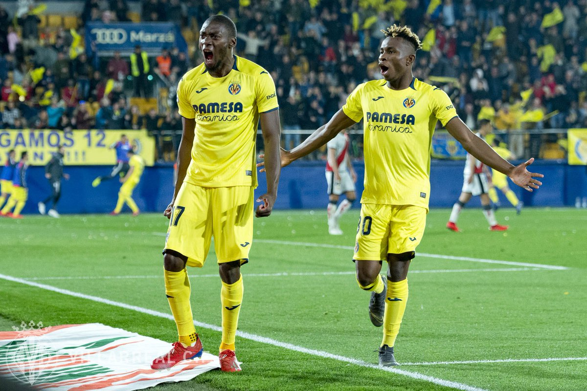 Villarreal CF English's photo on Ekambi