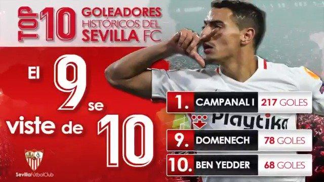 Sevilla Fútbol Club's photo on Ben Yedder