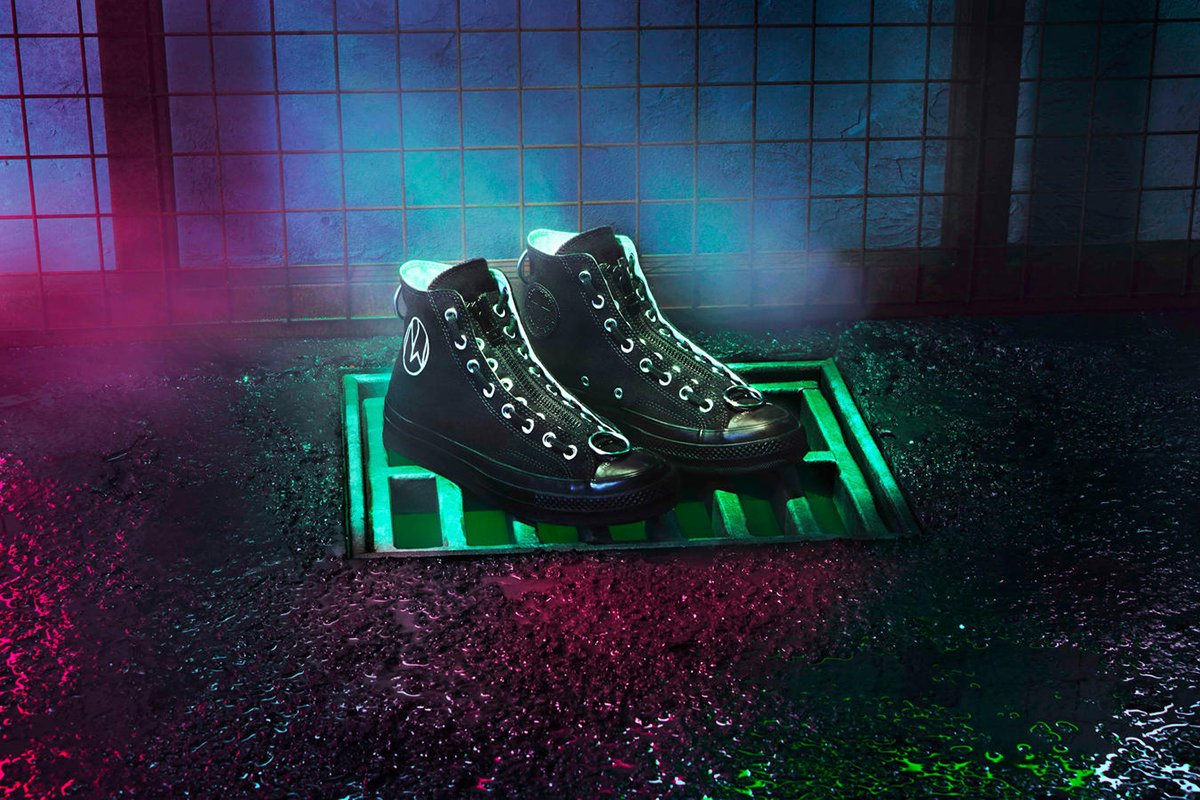 9042b81e02b2 undercover and converse come out to play with a chuck 70 collab inspired by  the cult