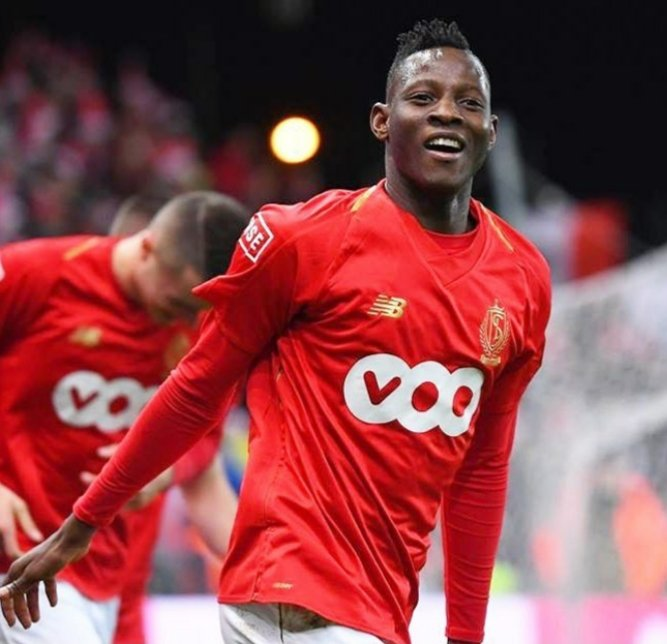 @MoussaDjenepo2 showed great fighting spirit by helping his @Standard_RSCL side stage a great come back by grabbing a brace in a match that ended 4-3.  #12MANagement