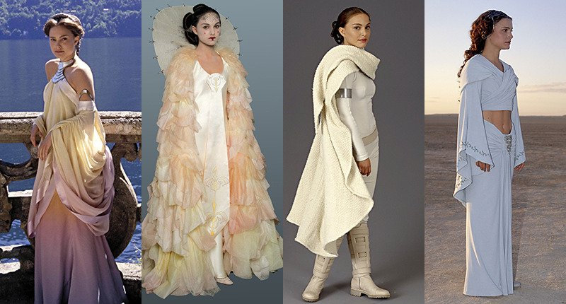 Rashida Renee On Twitter Padme Amidala S Wardrobe From Star Wars The Prequel Trilogy Episode I The Phantom Menace Episode Ii Attack Of The Clones Episode Iii Revenge Of The Sith