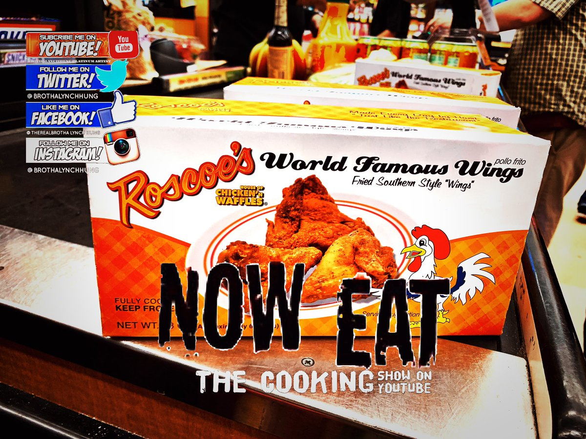 You can get Roscoes from everywhere in LA now 🤭