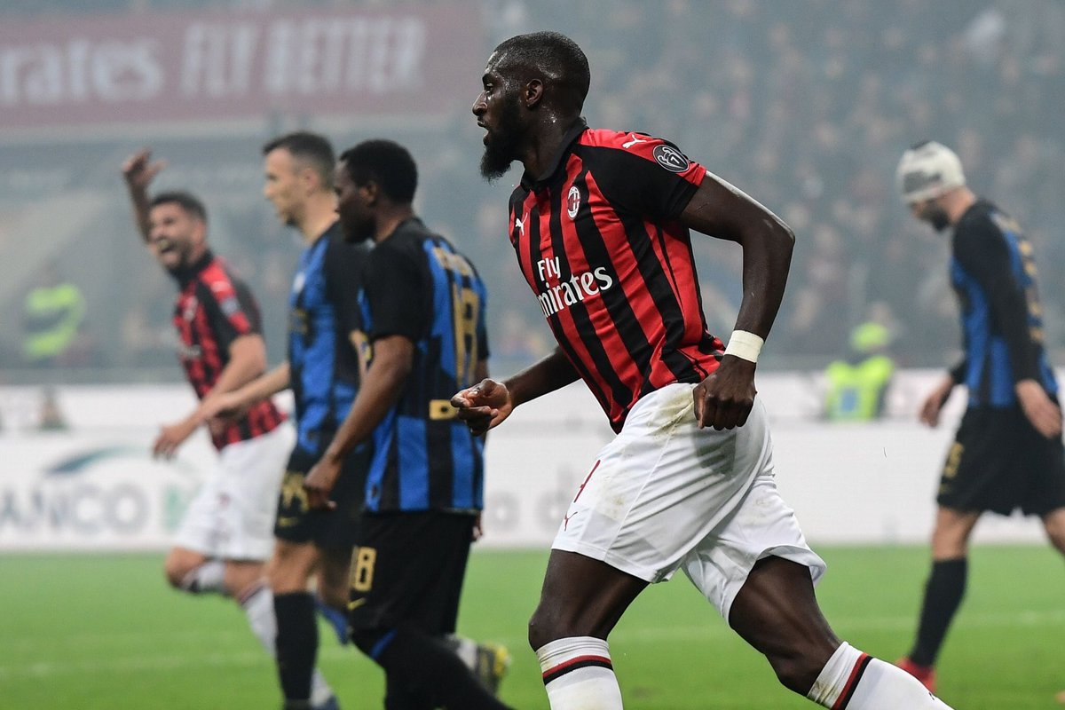 Tiemoué Bakayoko's game by numbers vs. Inter:  88% pass accuracy  10/11 final third passes  8 ball recoveries  3 tackles won  3 successful take-ons  3 interceptions  2 chances created  1 goal
