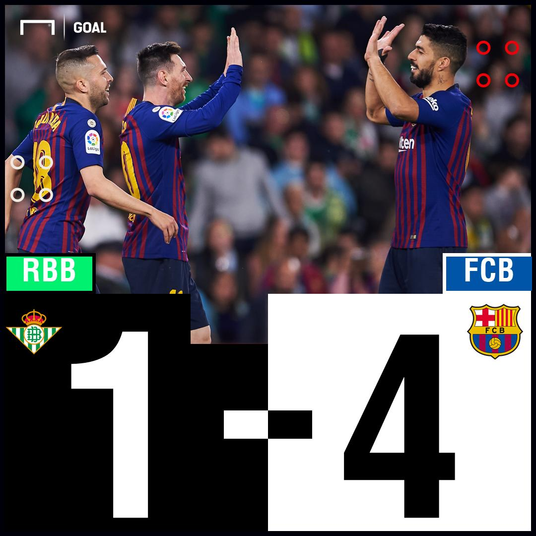 Unstoppable Messi leads unstoppable Barcelona 🔥