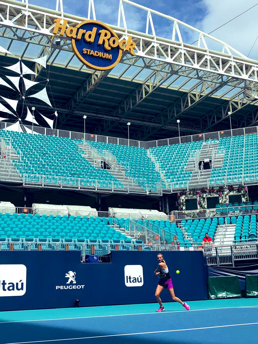 Wow! The new venue is huge! Really nice stadium court too. Nice work @MiamiOpen 👍 https://t.co/AYJthlWIOg