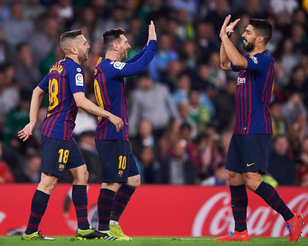 Real Betis 1-4 Barcelona Goals & Highlights Video - 17 March 2019