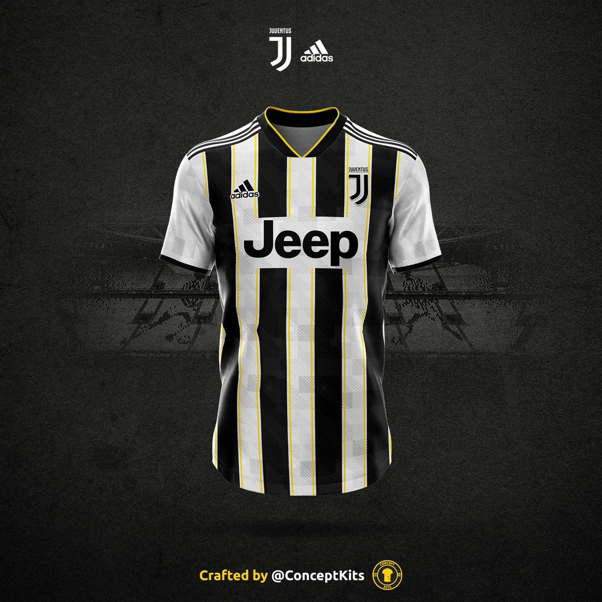 best wholesaler 8bf74 185c7 ConceptKits Juventus Football Club home kit concept for the ...