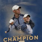 Image for the Tweet beginning: Congratulations @McIlroyRory !! So well