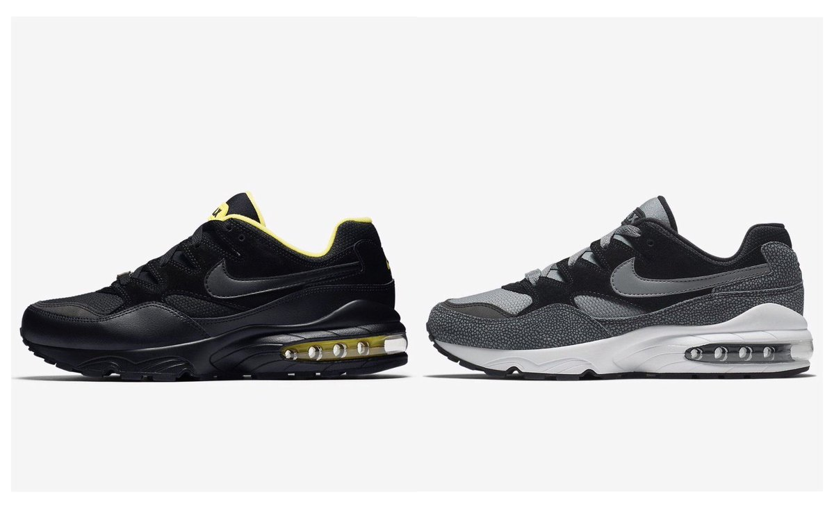 a3cc3615a2 Nike Air Max 94 SE (no code needed) Black/Tour Yellow  https://t.co/3CWXYzWnWf Black/Cool Grey https://t.co/IHAU4HXjHX *try  applying WC Rewards*… ...