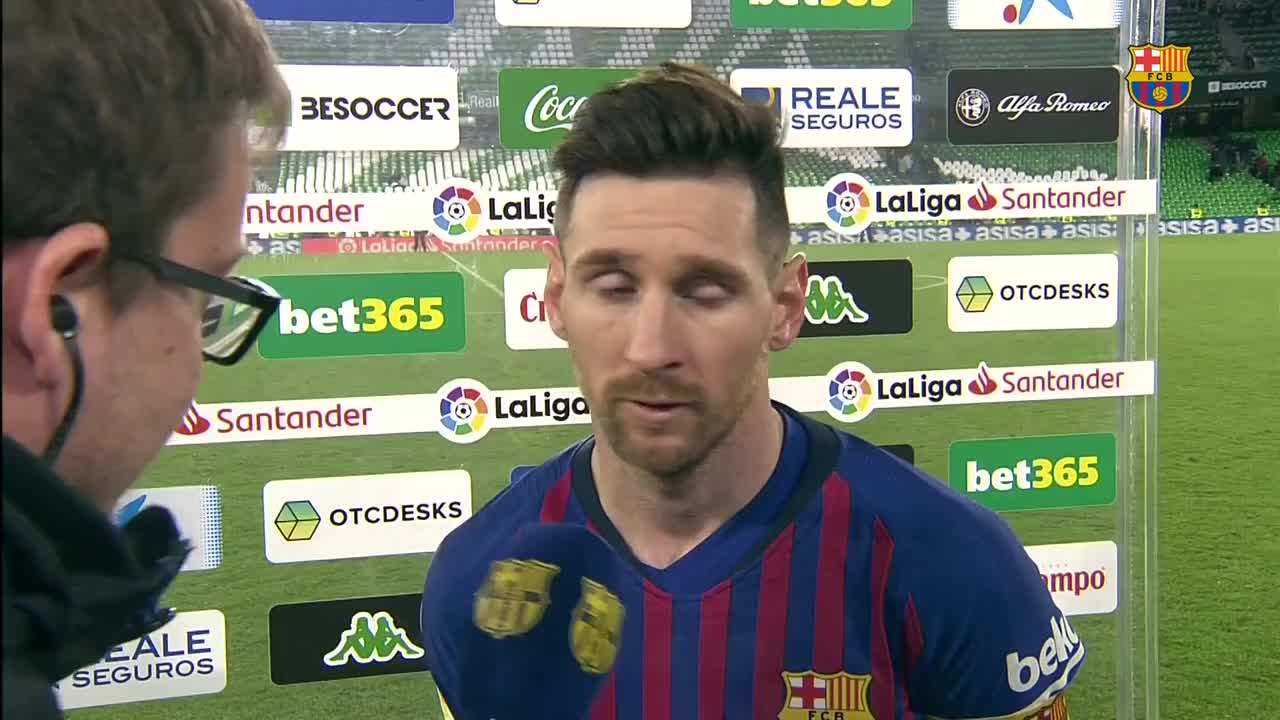 �� Leo #Messi, @ivanrakitic and Ernesto Valverde ���� #BetisBarça https://t.co/z5xhuIyCYl