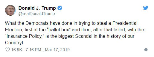 "There was no Democratic effort to ""steal"" the presidential election, at the ballot box or otherwise. This is a big lie."