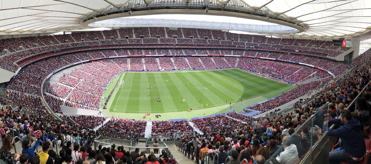 Esto no es un sueño, ya es una REALIDAD.   Seguiremos trabajando todas y todos e iremos de la mano para que esto se convierta en RUTINA.   El #Futfem SÍ INTERESA  Hoy ha sido un gran día, ha ganado el fútbol femenino y estoy seguro, de que vendrán muchos más.   ¡Buenas noches🤩!