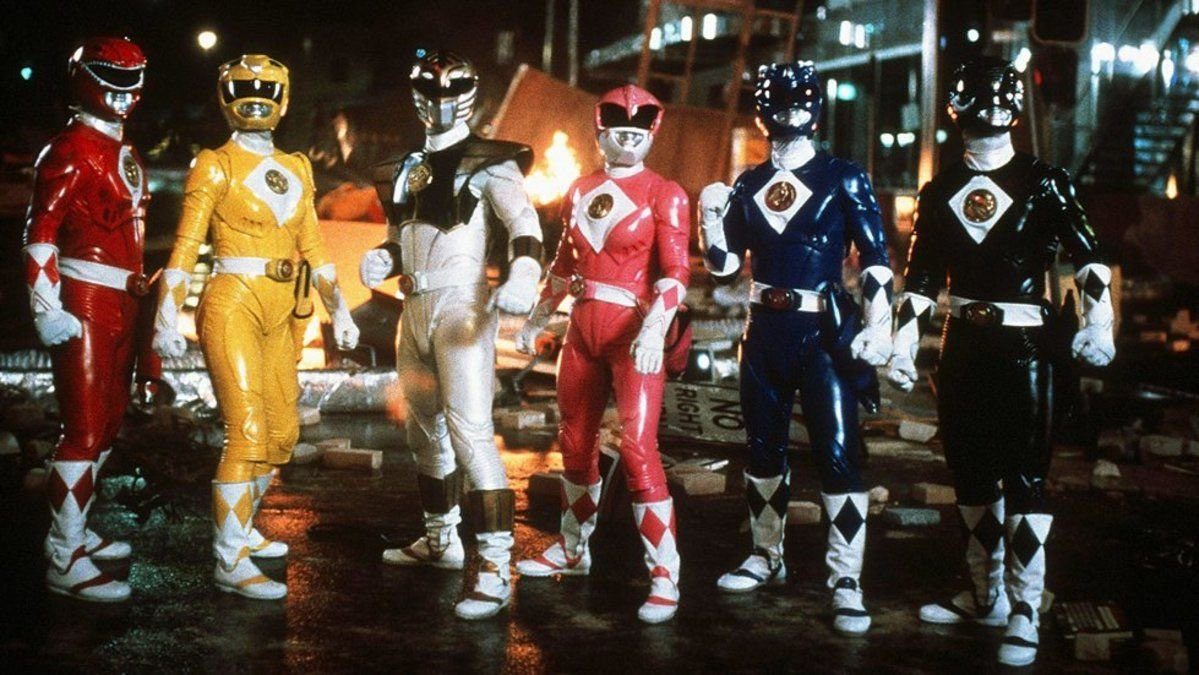 mighty morphin power rangers the movie blu ray release