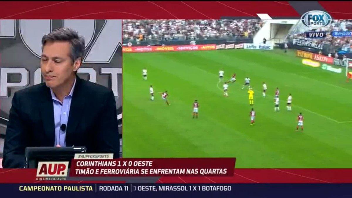 ⚫⚪🦅 O @Corinthians está melhor nessa fase do Campeonato Paulista?   Zinho deixou seu comentário;   Confira:   #AUPFOXSPORTS