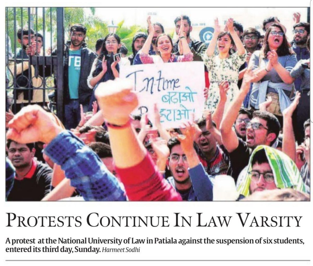 Thank you @IndianExpress! Please continue your coverage against these tyrants. #rgnul #notanymore #justiceforrgnul #FreeRGNUL #wewantjustice #shame<br>http://pic.twitter.com/gvXpoHNvSU