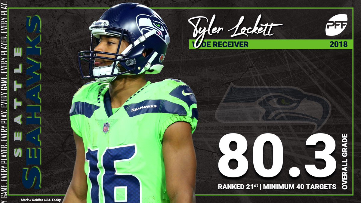 Pff On Twitter Tyler Lockett Finished With A Perfect