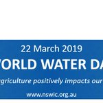 Image for the Tweet beginning: World Water Day is only