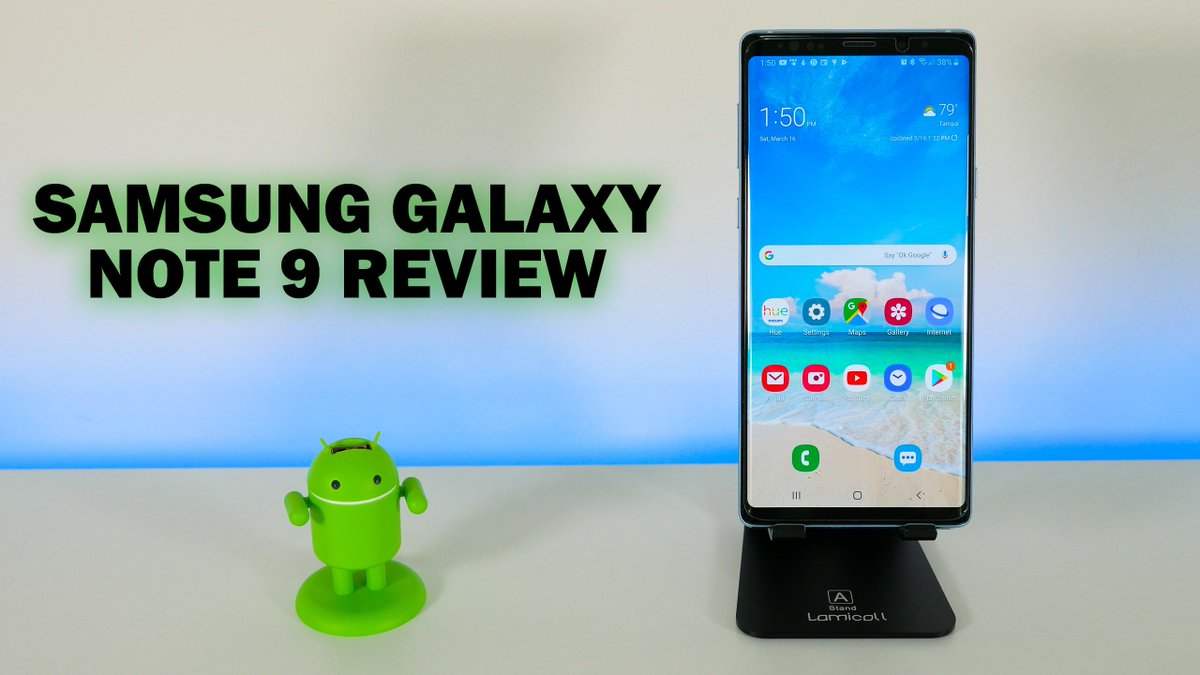 Samsung Galaxy Note 9 review uploaded!  Still one of the best smartphones you can buy today.  https:// youtu.be/1TNZExHBXrE  &nbsp;   #samsung #galaxynote9 #Note9 #android<br>http://pic.twitter.com/aDI4xE4RYO