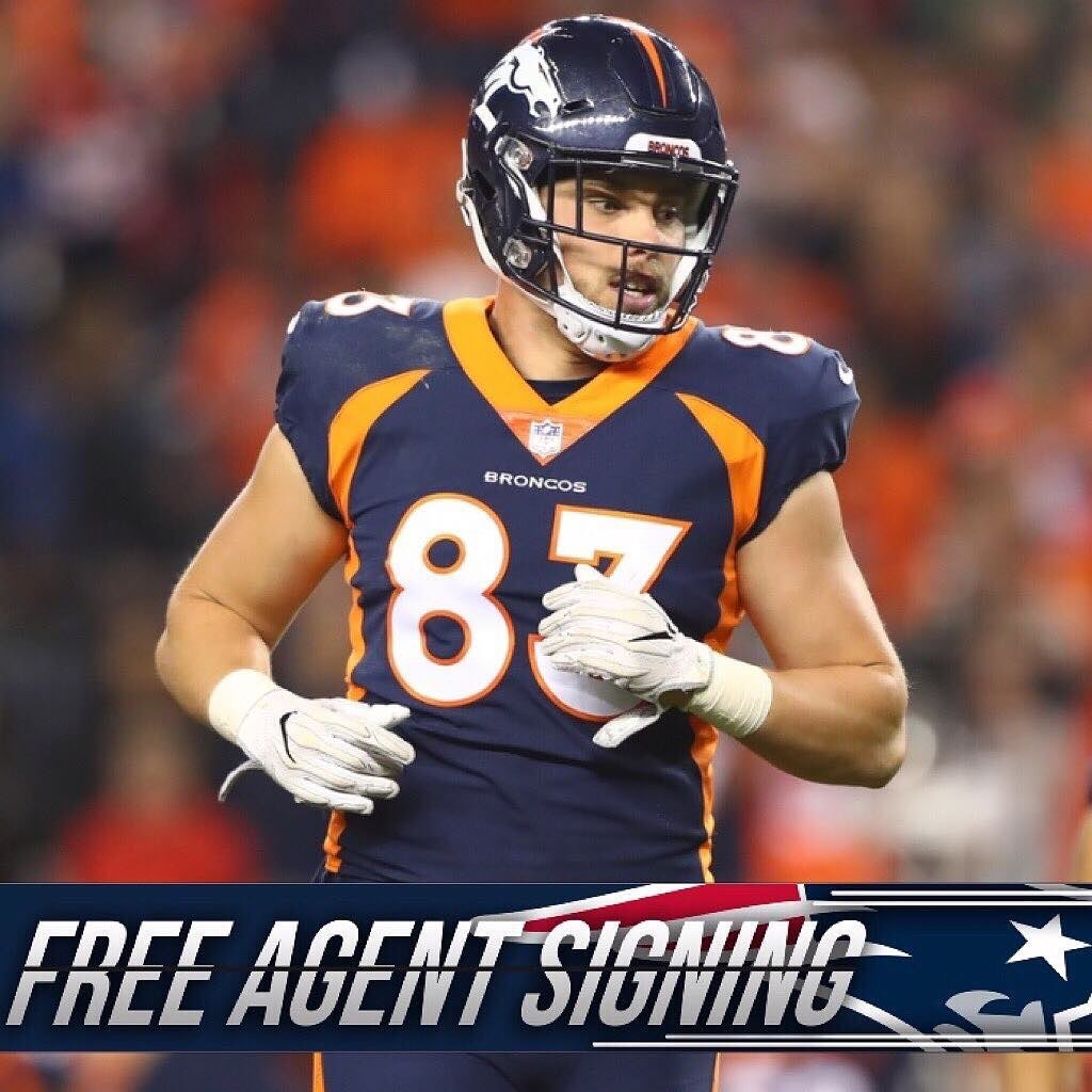 The #Patriots have inked TE Matt LaCosse to a 2 year deal worth about $4.8M, per Field Yates within the last 48 hours.  #GoPats #PatsNation #StillHere #LFG #NFL <br>http://pic.twitter.com/ItQDhocSXF
