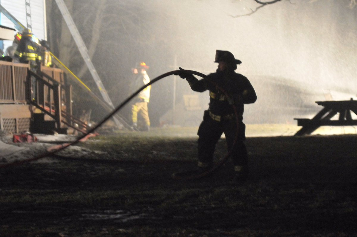 Firefighters respond to structure fire in Gorham