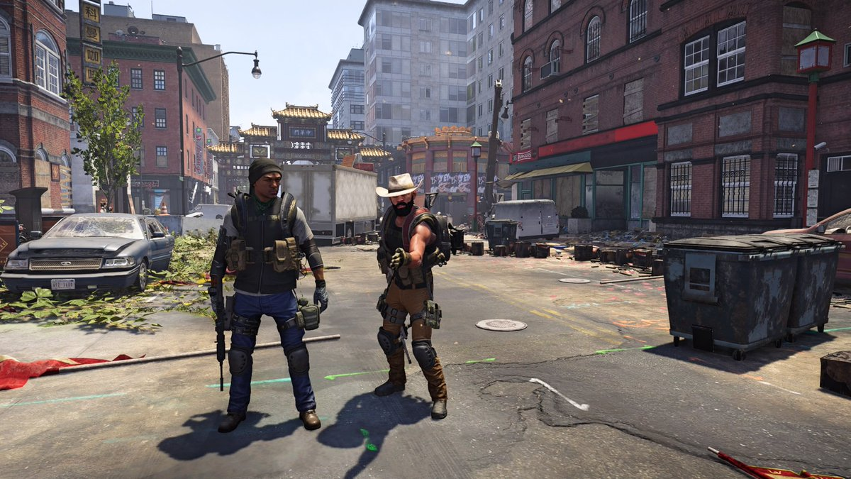 Boi stap..... The look we give you randoms #TheDivision2  #PS4share