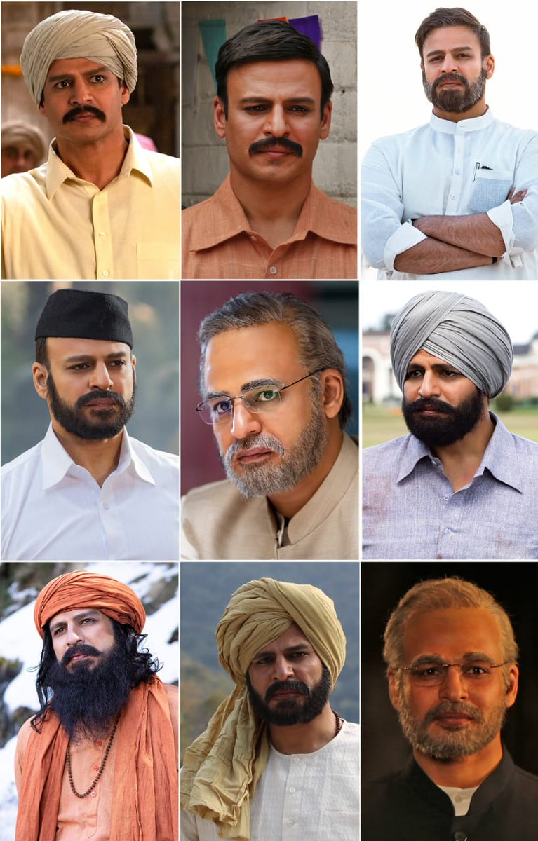 पीएम नरेंद्र मोदी बायोपिक के 9 नए लुक जारी, पर्रिकर के निधन की वजह से टला पोस्टर लॉन्च