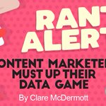 Uh oh. Don't get @clare_mcd started. She says not enough marketers know the basics of data. https://t.co/SKJPsC9gSq