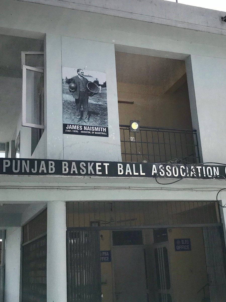 I have been in Punjab this week, an area with a rich history in India basketball. They even acknowledge the inventor of this great game. #jamesnaismith #grassroots #nba  #ThisIsWhyWePlay <br>http://pic.twitter.com/vwMg6lGJWe