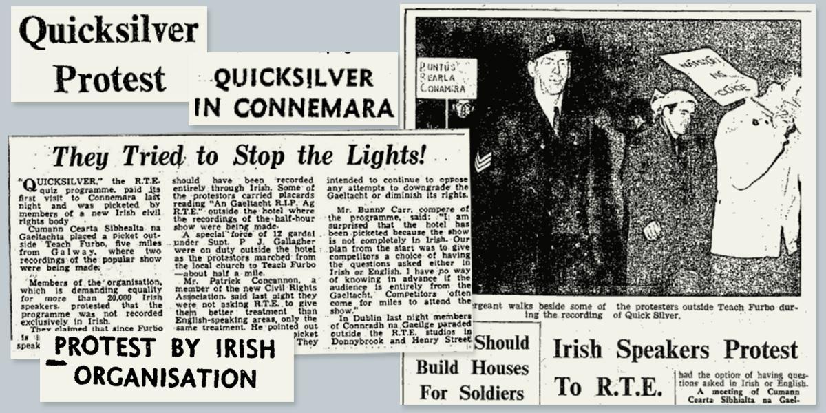 A Galway group is crying 'stop the lights'! 50 bliain is an lá inniu a cuireadh síol Chearta Sibhialta na Gaeltachta… https://tuairisc.ie/a-galway-group-is-crying-stop-the-lights-50-bliain-is-an-la-inniu-a-cuireadh-siol-chearta-sibhialta-na-gaeltachta/…