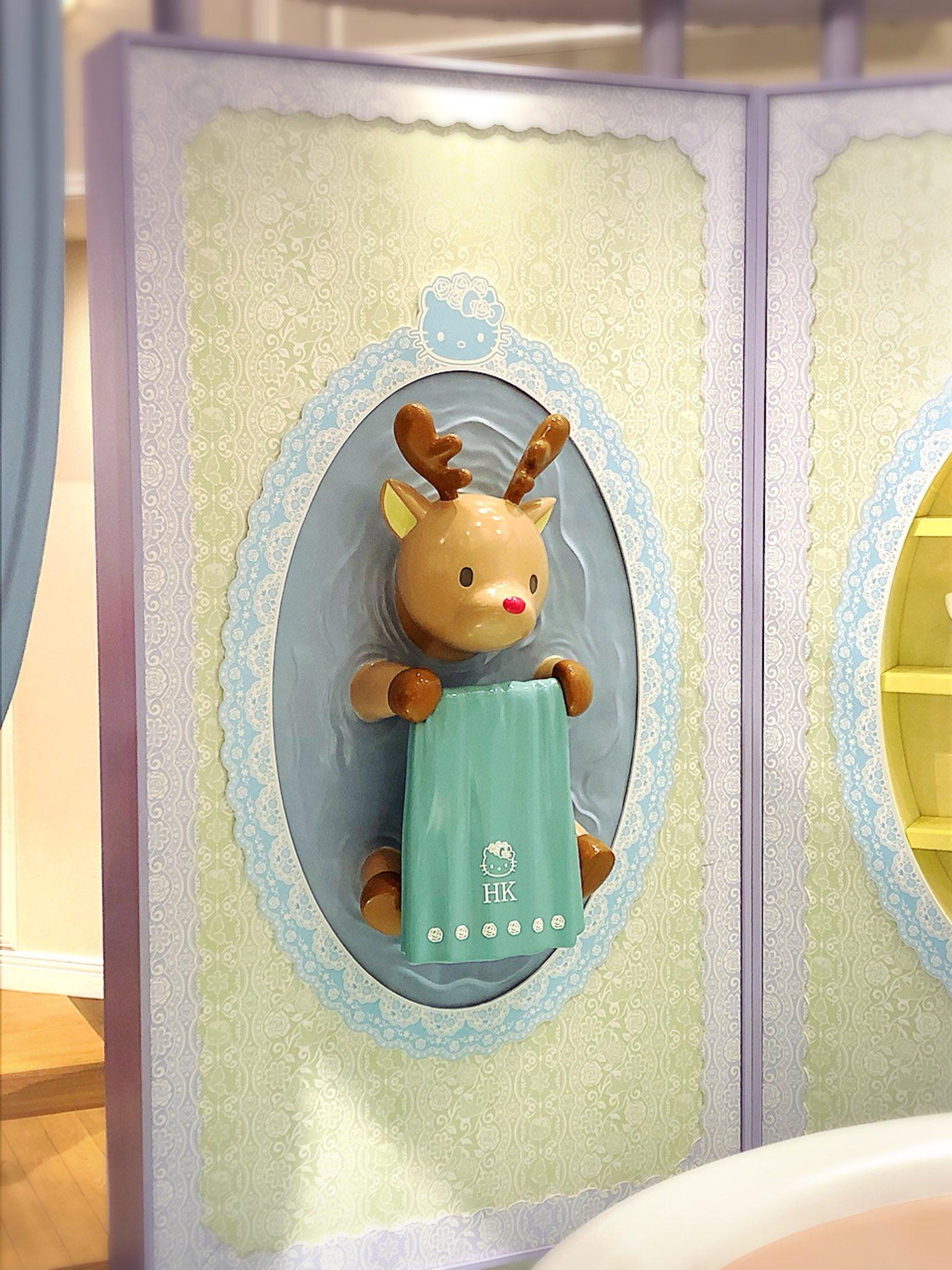 キティ様の家にお邪魔したんですけどキティ様のお風呂場でセメントかなんかで壁に塗り込まれてタオル掛けにされてる鹿がゆめかわメルヘンの中に確かに存在する狂気と悲劇って感じで最高でしたね。