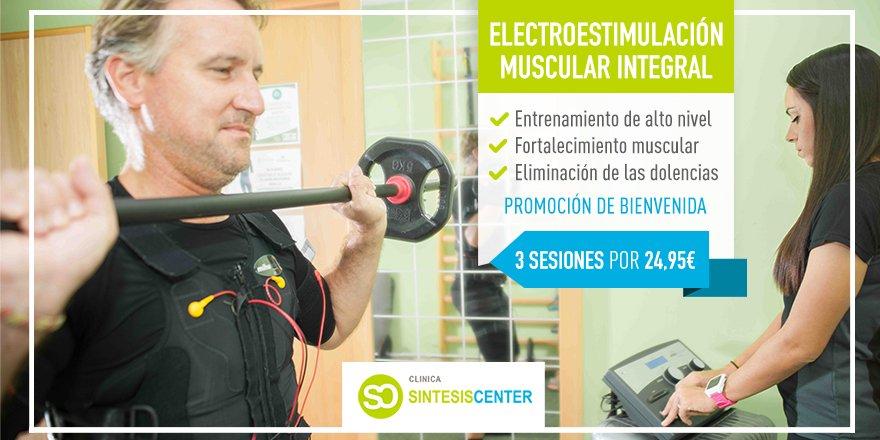 Con el inicio de la primavera... 🌻  ¡Es tiempo de cuidarse! 💚 Prueba la electroestimulación muscular y conseguirás resultados increíbles. 🔝   #SíntesisCenter #Málaga #HolaPrimavera #Primavera #Fisiotrón #Deporte #Electroestimulación #Entrenamiento