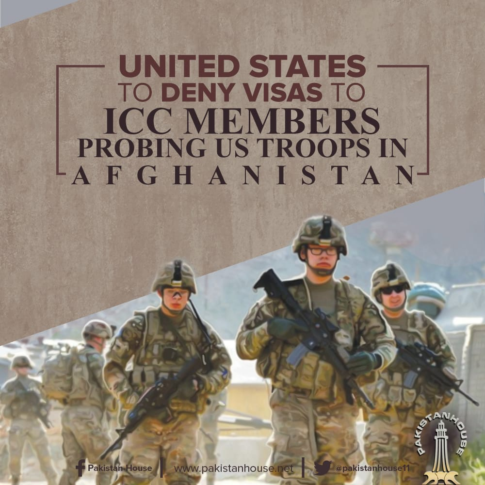 The #UnitedStates has announced that it would deny visas to members of the International Criminal Court involved in investigating the actions of US troops in #Afghanistan or other countries.<br>http://pic.twitter.com/7E6UKYhfq6