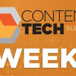Let the countdown begin!🤓 Learn more about #ContentTECH Summit: https://t.co/K3lzJVT9Kr 💰 Save $100 when you use discount code TW100 at checkout.