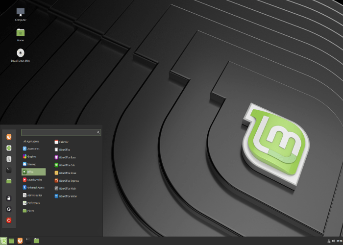 Linux Mint on JumPic com
