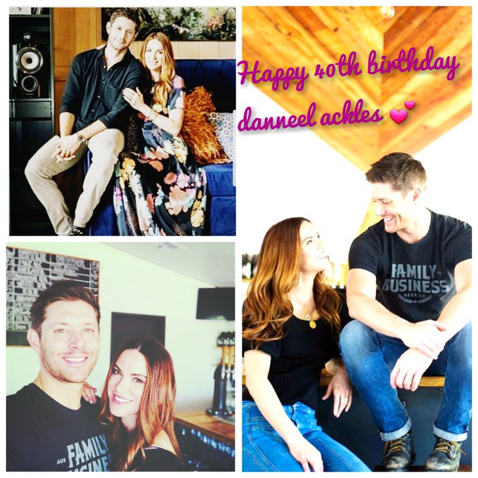 Happy 40th birthday danneel ackles I hope you enjoying today love you so much
