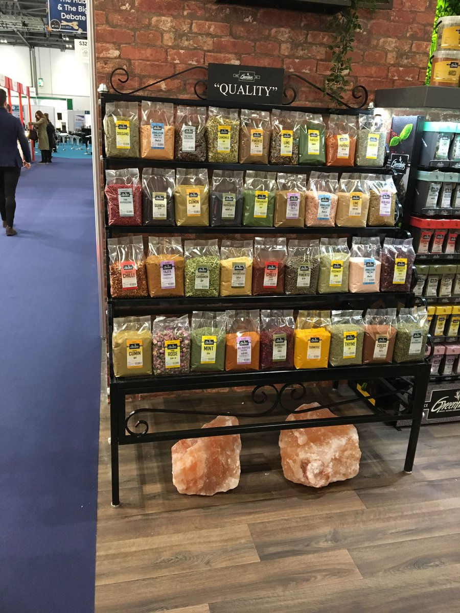 Lots of interesting spices from @greenfields #ife19 #rdguk https://t.co/5DaF0Jkxvw