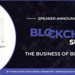 Image for the Tweet beginning: @PennanenMaria is speaking at #BlockchainSummit