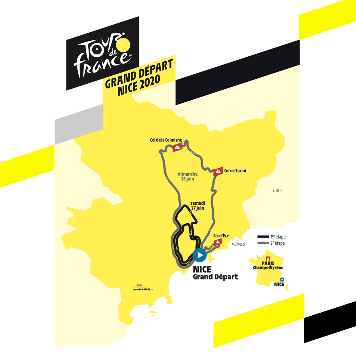 Tour De Francia 2020 Nice Cycling Paradise on Twitter: