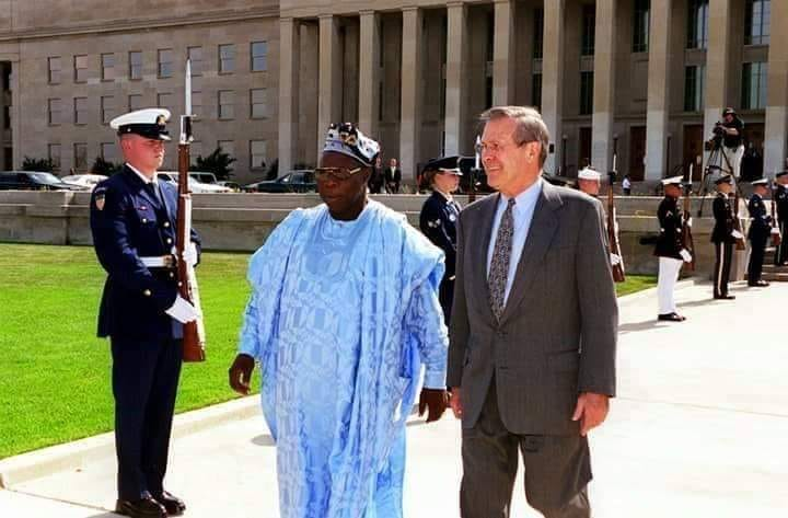 Congratulations to Baba Obasanjo as he is reappointed Chairman Council of World Former Presidents. He is the 32nd chairman, and the first African to achieve this feat.<br>http://pic.twitter.com/1gx7IrA5Nk
