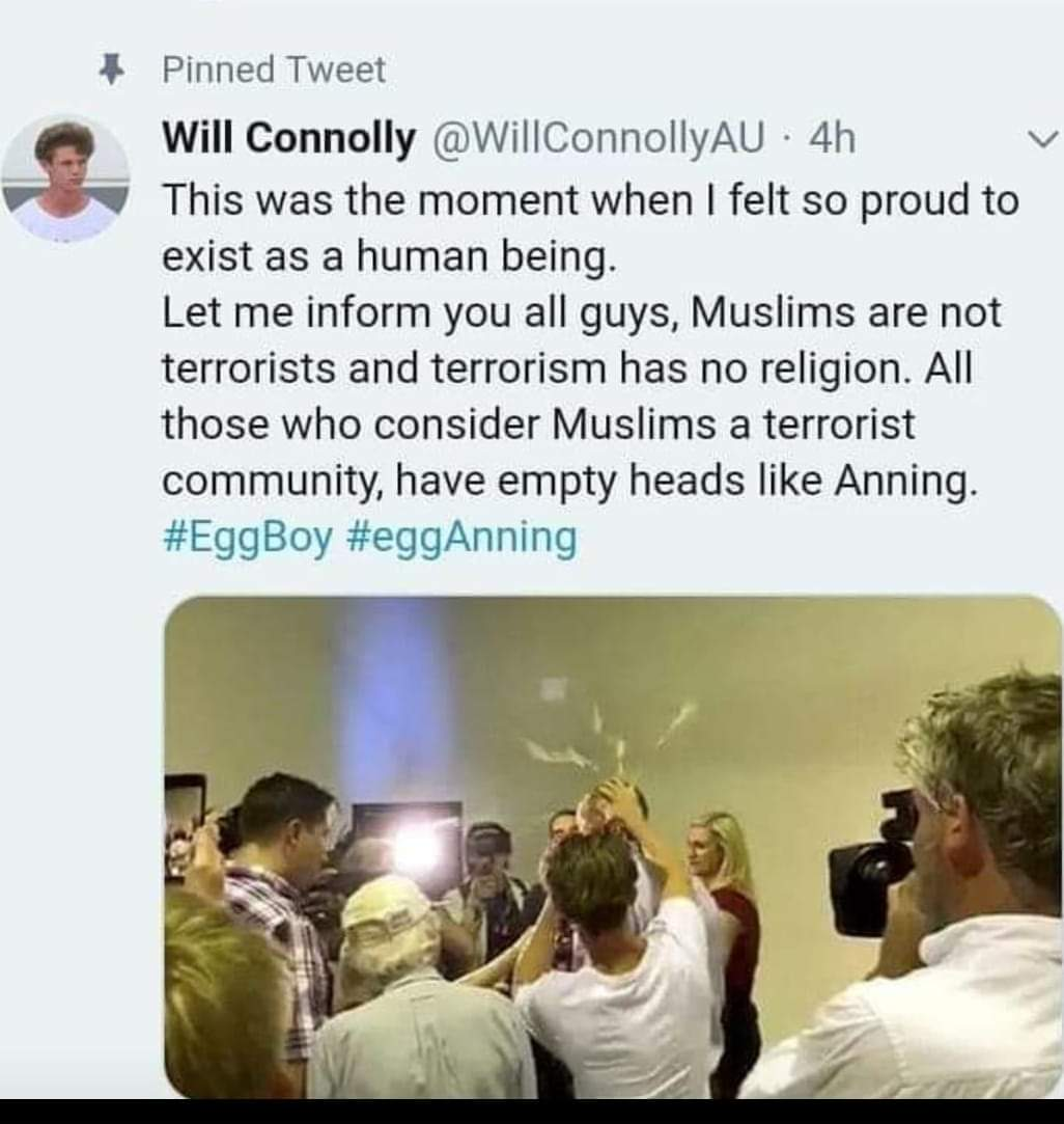 Peace ,and love is common in every religion ,but its true 49 innocent muslims are killed in a civilizes country without no reason .but salute to humsnity of a little boy  #WeCondemnNZTerrorism