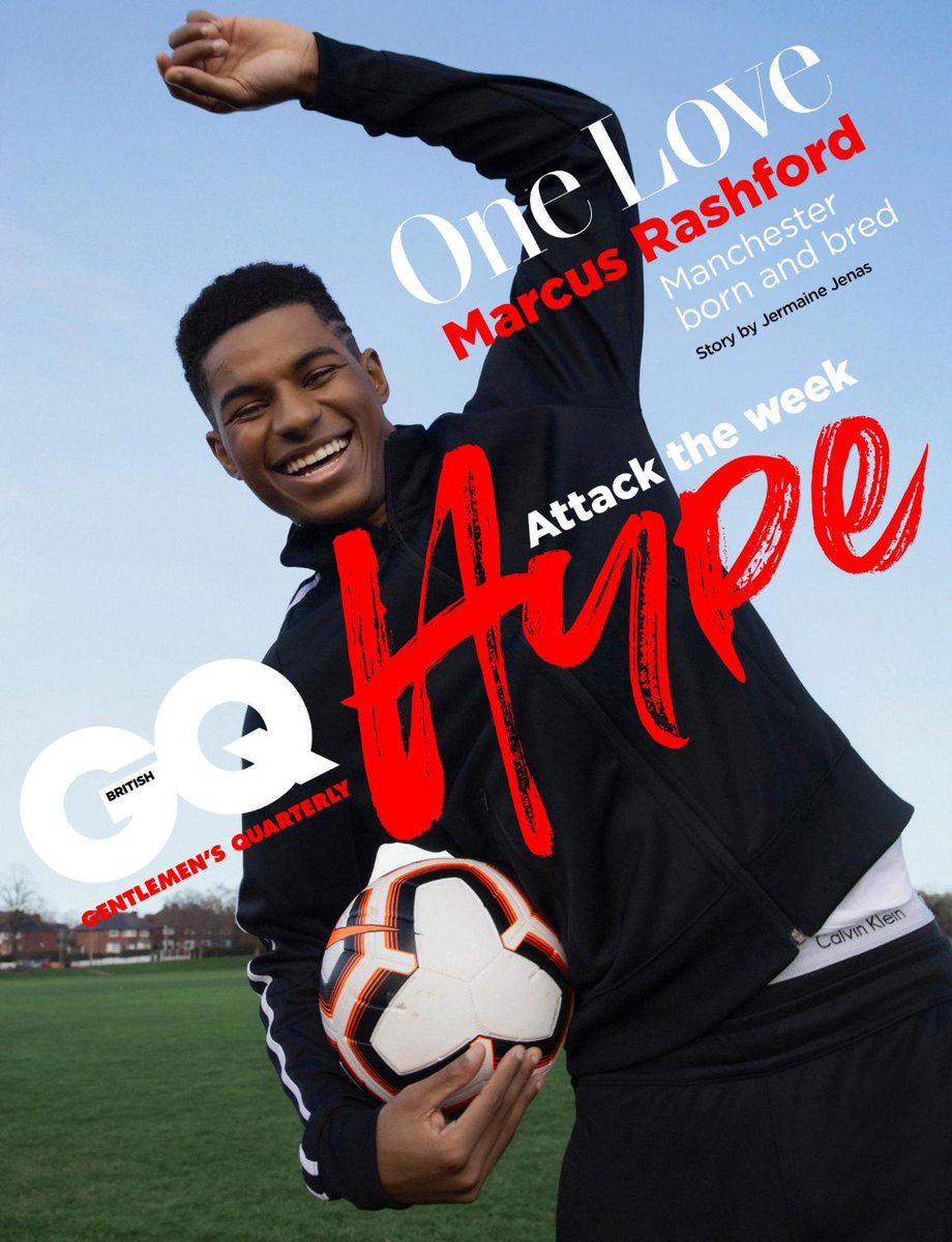 .@MarcusRashford is our #GQHype cover star ⭐. @jjenas8 spent the day in Manchester with United's talented star https://www.gq-magazine.co.uk/article/marcus-rashford-interview … #MUFC
