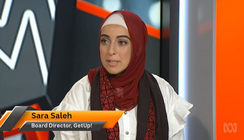 """White supremacy doesn't know any border, religion, or colour. Australia's system is propped up and enabled by politicians and media shock jocks that have made a political career out of Islamophobia and inciting hatred and white supremacist views."" Sara Saleh #auspol #TheDrum"