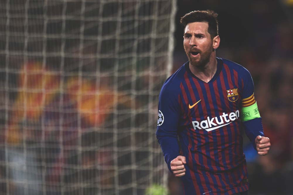 Combined goals and assists so far this season:  Lionel Messi: 60.  Cristiano Ronaldo: 36. Raheem Sterling: 35. Karim Benzema: 31. Mo Salah: 28. Eden Hazard: 27. Antoine Griezmann: 26.