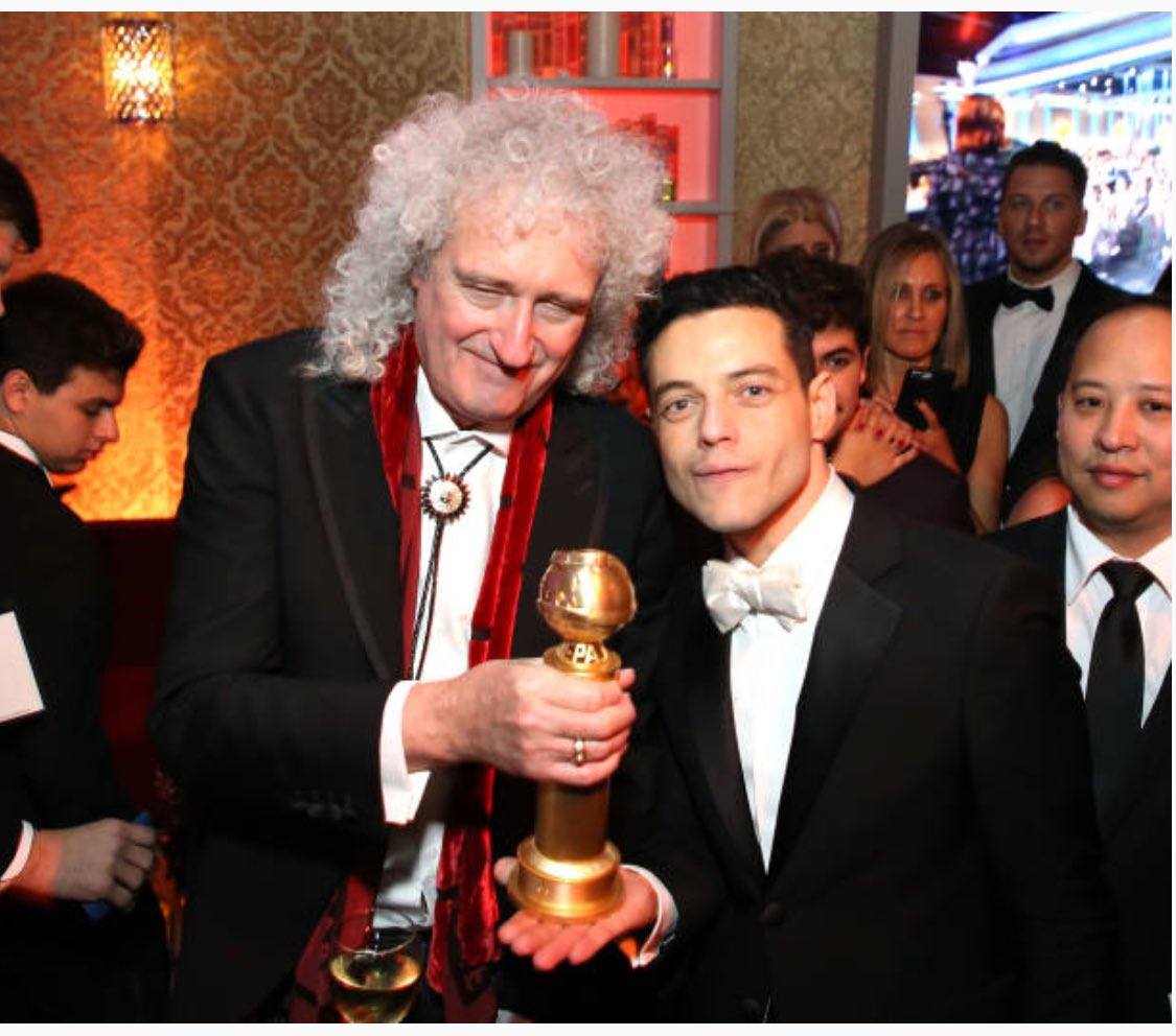 The Bohemian Rhapsody and some of it's well deserved awards: Photos from the Golden Globes and the Oscars #BohemianRhapsody  #Oscars #GoldenGlobes #RamiMalek #Queen #BrianMay <br>http://pic.twitter.com/HVApuql7b3