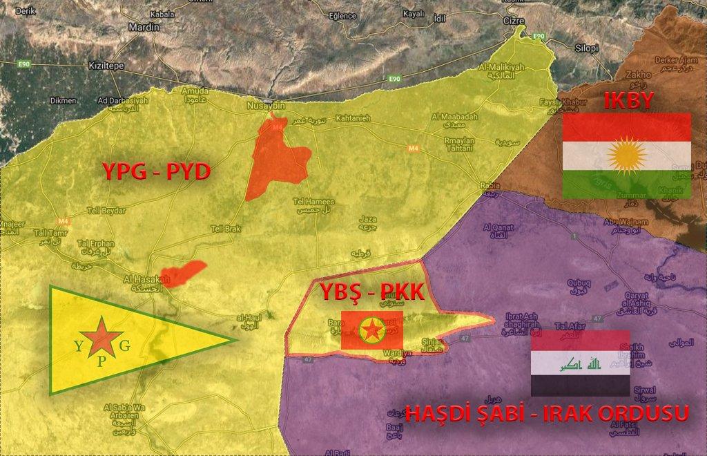 Suriye'den gelen PKK'lılar Sincar Sunini'deki Irak ordusu 15.Tüm 72.Tugay'a bağlı K/N'da durdurulur. Hemen üzerine PKK'ya angaje YBŞ'liler Sincar'dan gelir. Askerleri taşlarlar. Çatışma çıkar. 2 Irak askeri ölür, 7 yaralı. ŞİMDİ IRAK DEVLETİ ve ORDUSU BU OLAYDAN DERS ÇIKARTIR MI?